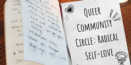 Queer Community Circle: Radical Self-Love tickets