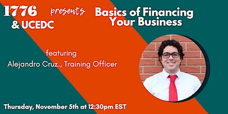 1776 & UCEDC Presents: Basics of Financing Your Business tickets
