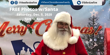 FREE Photos w/Santa Presented by The Sellers Law Firm, LLC tickets