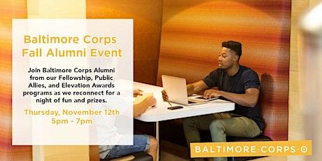 Baltimore Corps Fall Alumni Event tickets