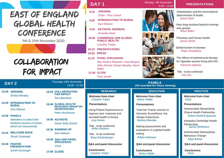 East of England Global Health Conference image
