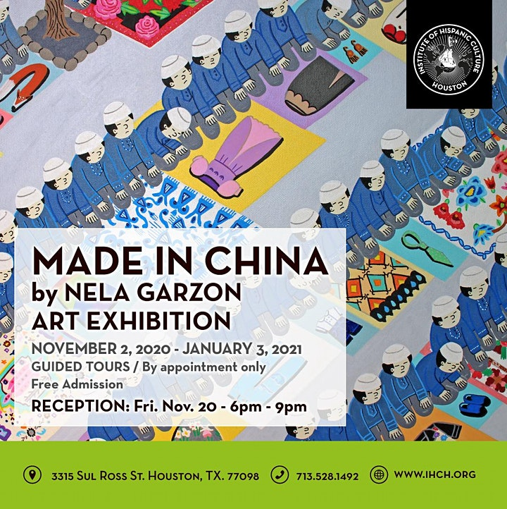 Made in China by Nela Garzon Art Exhibition image