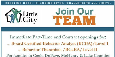 Virtual BCBA/ BCaBA Recruitment Event - In-Home and Family Services tickets