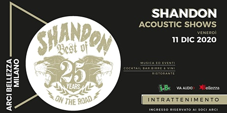 Shandon live biglietti