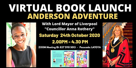 VIRTUAL BOOK LAUNCH OF ANDERSON ADVENTURE tickets