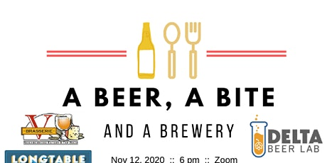 A Beer, A Bite & A Brewery: Delta Beer Lab tickets