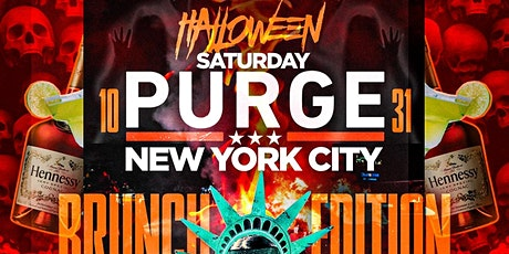 "CEO FRESH PRESENTS: ""THE PURGE"" HALLOWEEN BRUNCH & DAY TIME DINING NYC tickets"