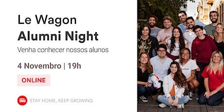 Alumni Night | Conheça nossos Alumni! | Le Wagon Rio ingressos