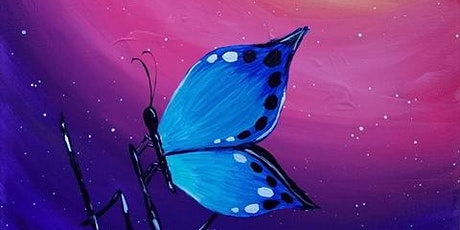 """Virtual Paint and Sip Event - """"Butterfly Zen"""" tickets"""