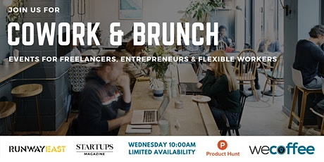 Cowork & Brunch - London Bridge tickets