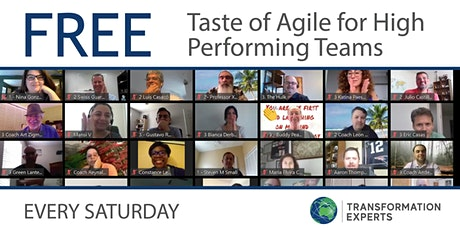 FREE REMOTE  |  Taste of Agile for Remote High Performing Teams tickets