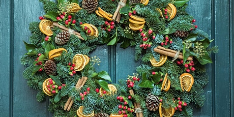 Sustainable Christmas wreath making kit & online workshop tickets