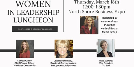 "Thursday, March 18th ""Women in Leadership - Expo Luncheon"" tickets"
