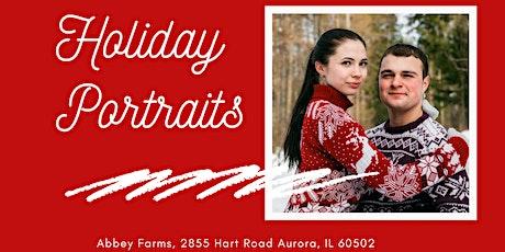 Holiday Portraits- November 14-November 22 tickets