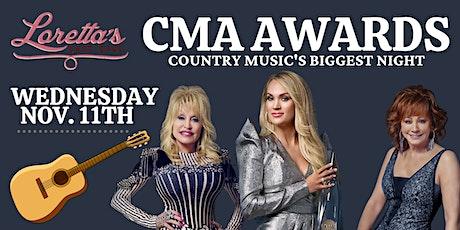 CMA Awards Watch Party at Loretta's Last Call! tickets