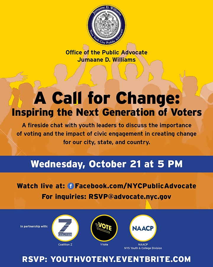 A Call for Change: Inspiring the Next Generation of Voters image