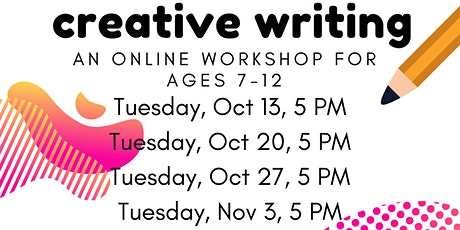 Fall Creative Writing Club For Kids, Week Four: Writing Conflict tickets