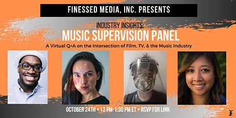 Finessed Media, Inc. Industry Insights: Music Supervision Panel Pt.2 tickets