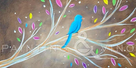 """At Home Paint and Sip Event - """"Blue Bird"""" tickets"""