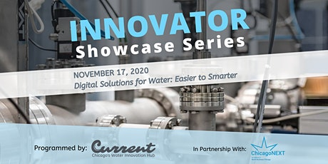 Innovator Showcase Series - Digital Solutions for Water: Easier to Smarter tickets