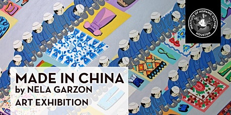 Made in China by Nela Garzon Art Exhibition entradas