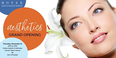 Hotze Aesthetics Grand Opening tickets