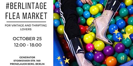 #BERLINTAGE flea market @ GENERATOR tickets