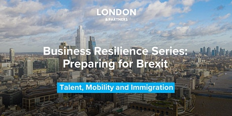 London & Partners Business Resilience Series – Talent tickets