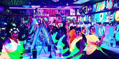 GLOW UP THE NIGHT SIP & PAINT tickets