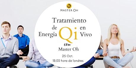 Tratamiento de Energía Qi en Grupo con Master Oh entradas