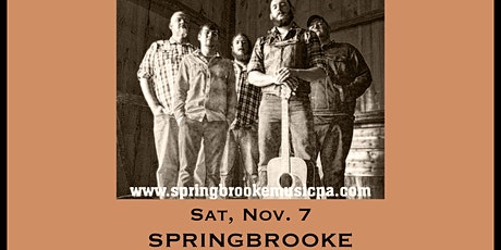 Springbrooke - Tailgate Under The Tent Series tickets