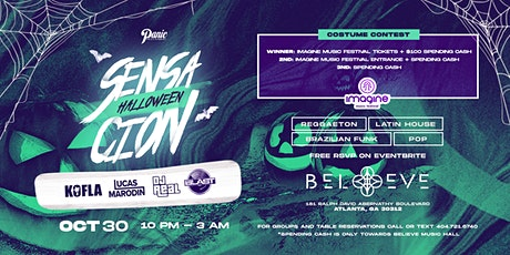 SENSACION Halloween! - Disfruta ló Malo  | Believe | Friday October 30 tickets