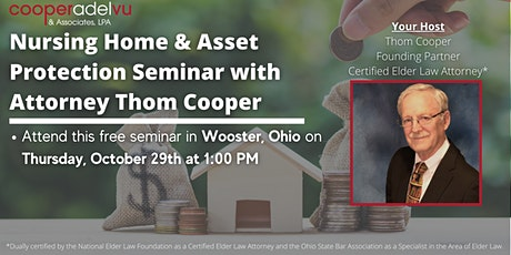 Nursing Home & Asset Protection Seminar with Attorney Thom Cooper tickets