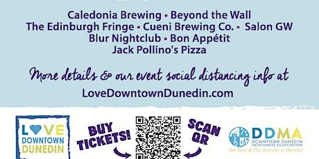 Love Downtown Dunedin Mural - Canvas Art Walk & Block Party tickets