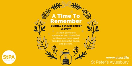 'A Time To Remember' tickets
