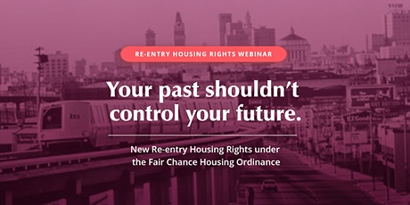 Reclaiming Humanity & Housing Rights: The Fair Chance Housing Ordinance tickets