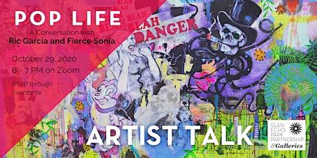 Pop Life Artist Talk tickets