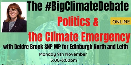 Politics &  the Climate Emergency with Deidre Brock MP tickets