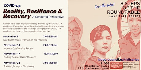 COVID-19: Reality, Resilience  & Recovery - A Gendered Perspective tickets