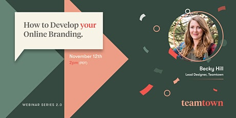 How to Develop Your Online Branding tickets