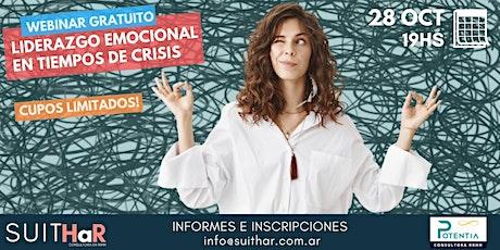 Webinar Gratuito: Liderazgo Emocional en Tiempos de Crisis boletos