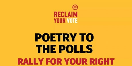 Poetry to the polls tickets