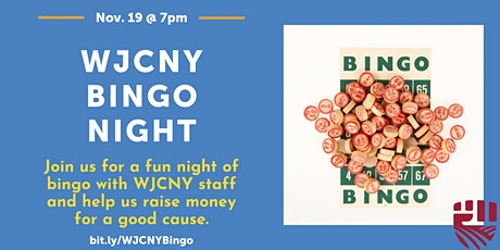 WJCNY Bingo Night tickets