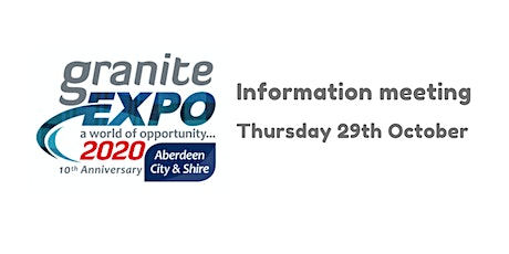 Granite Expo Goes Digital, Year 10 - launch info meeting tickets