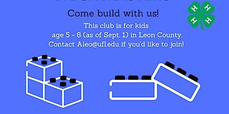 4-H Brick Masters Building Club tickets