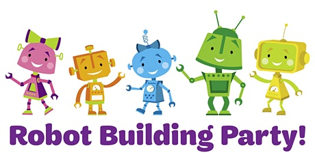 Robot Building Party for Girls! tickets