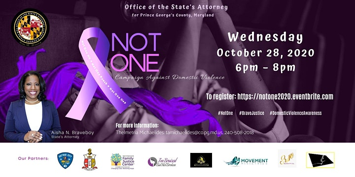 NOT ONE CAMPAIGN AGAINST DOMESTIC VIOLENCE - Virtual & Live image