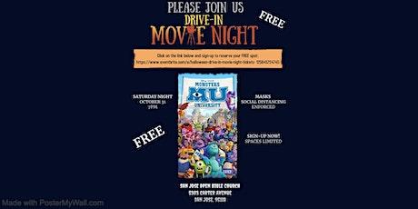 Halloween Drive-In Movie Night tickets
