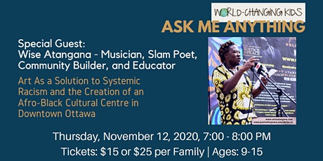Ask Me Anything - with Wise Atangana tickets