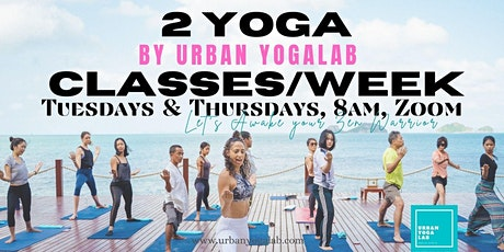 Detox & Anti-stress Yoga Classes, via Zoom tickets